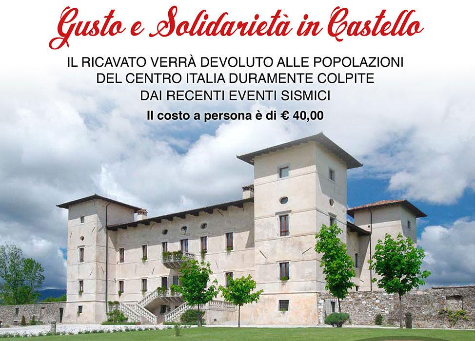 Gusto e Solidarietà in Castello